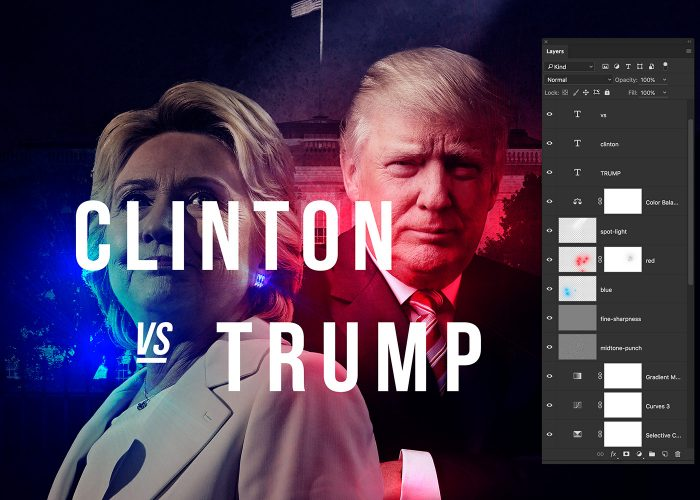 10-hillary-v-trump-poster-photoshop-tutorial