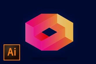 create-3d-logo-design-illustrator-tutorial