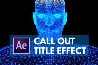 Create Call Out Titles with Animated Border in After Effects