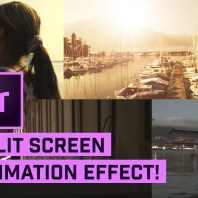 Split Screens in Premiere Pro (with Animation)