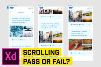 Most FRUSTRATING Feature of Adobe XD (Scrolling Areas)