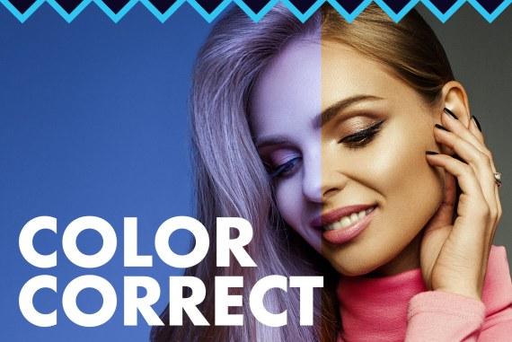Color Correction and White Balance Photoshop