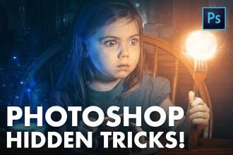 HIDDEN PHOTOSHOP TRICKS (Ten of them!)