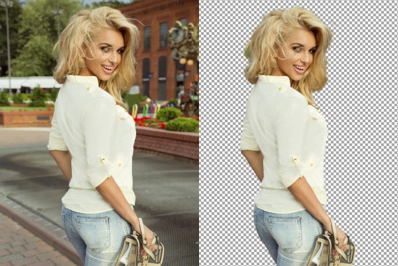 How to CUT OUT a Person in PHOTOSHOP