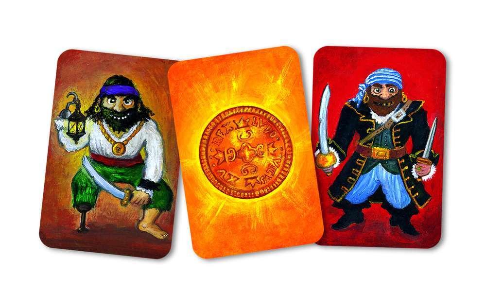קלפים - פיראטים