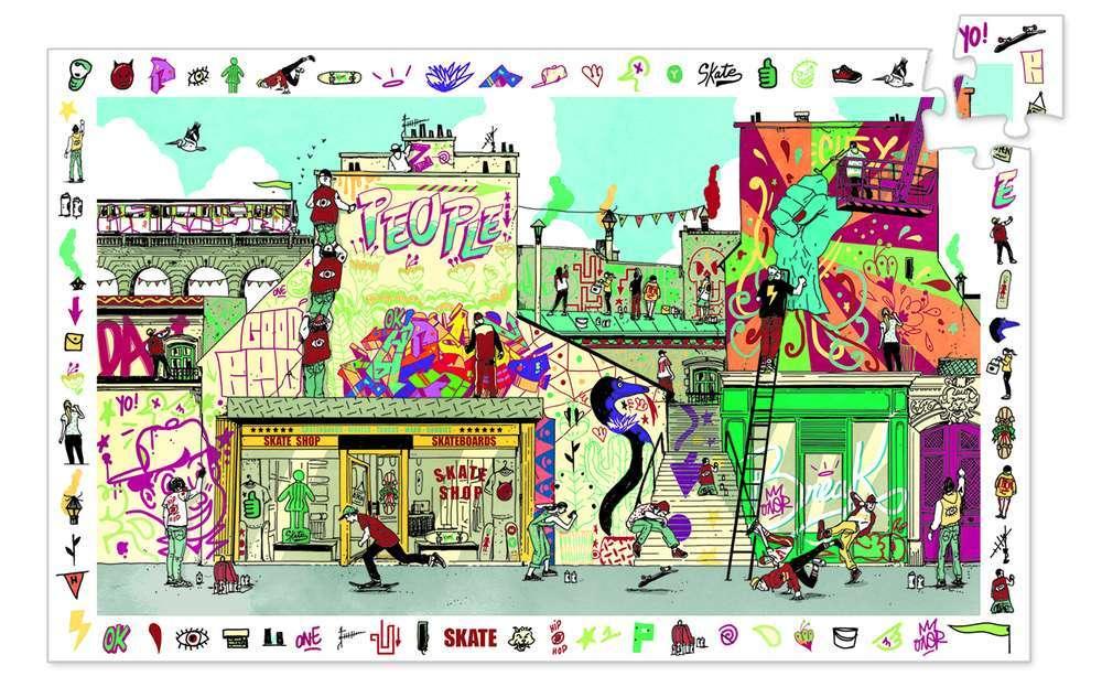 פאזל מסגרת 200 - אמנות רחוב
