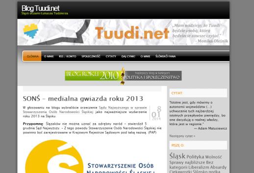 Druga odsłona Tuudi.net, aż do 2014 roku