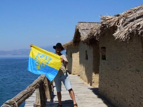 Nad jeziorem Ochrydzkim, Macedonia. Marcin Szala