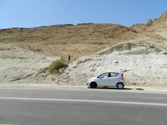 Nasz wypożyczony samochód :)