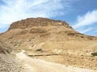 Na szczycie tej góry znajduje się Masada