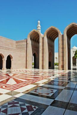 Plac przed meczetem