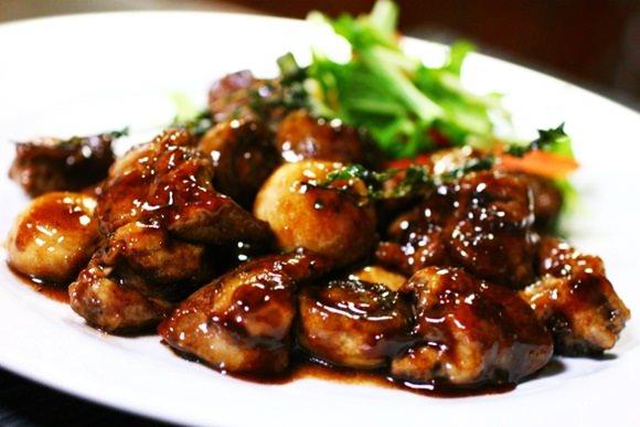 豚レバーの炒め物の画像