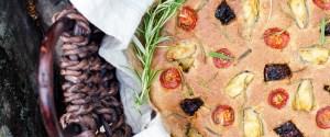 Gluten free Oat & Buckwheat Focaccia