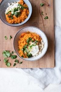 Sweet Potato, Carrot & Lentil Stew