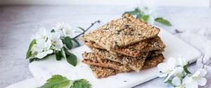 Quick & Easy Nettle Flatbread (gf + vegan)