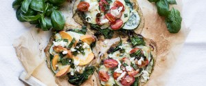 Summer Pesto Pizza Two Ways