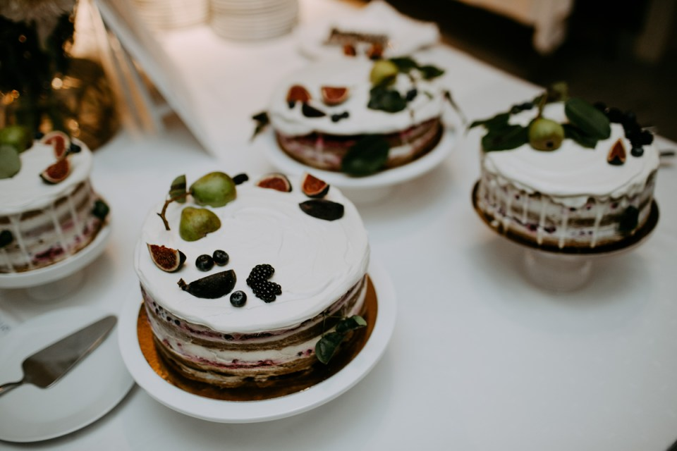 our wedding cake! vegan + gluten-free and oh-so-delicious