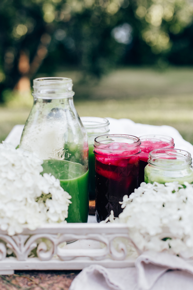 Late Summer Juicing | tuulia blog