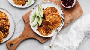 Carrot and Zucchini Pancakes (GF)