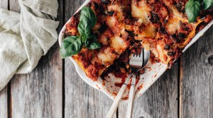 Gluten-free Vegetable Lasagna with Mushrooms