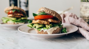 Easy Weeknight Tofu Burgers