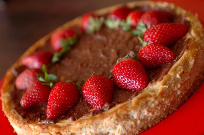 Rabarberi toorjuustu tort