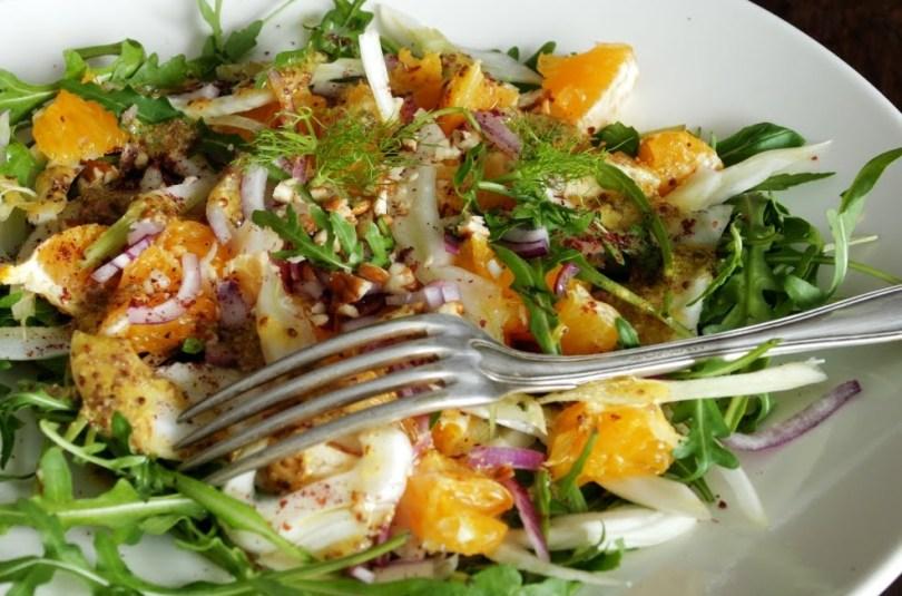 Fenkoli ja apelsini salat