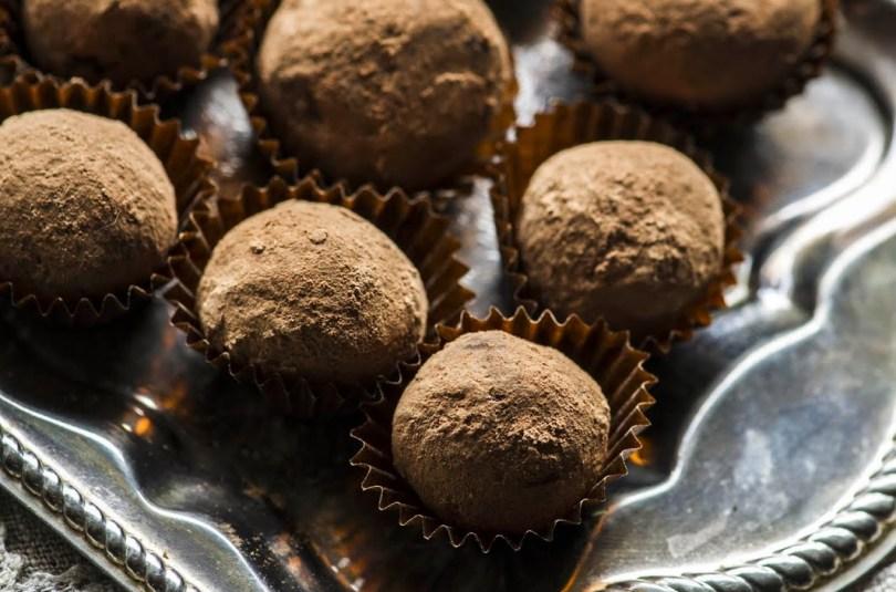 Maapähklivõi chaiga, trühvlid chaiga ja trühvlid maapähklivõiga
