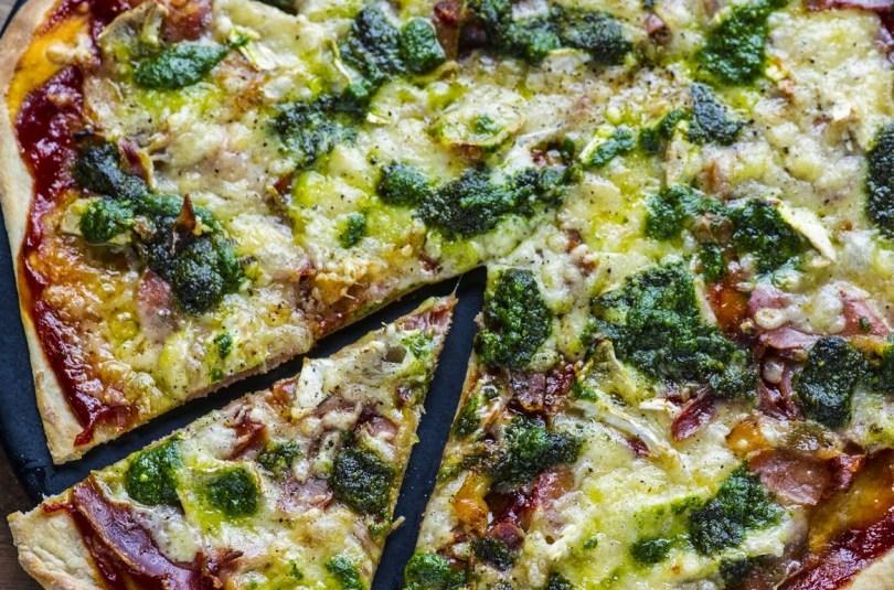 Saviplaadi pizza. Kogu pere lemmik