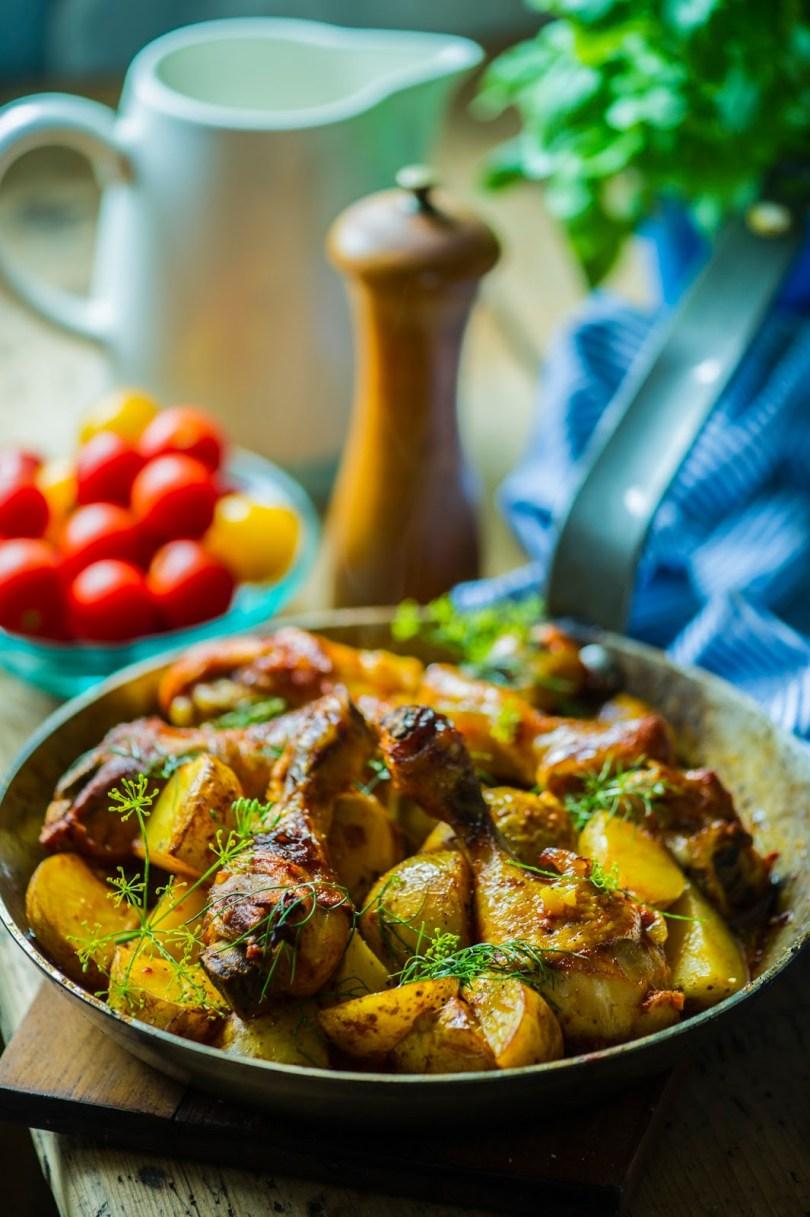 Argiõhtu toidukiirabi – kanakoivad kartuliga