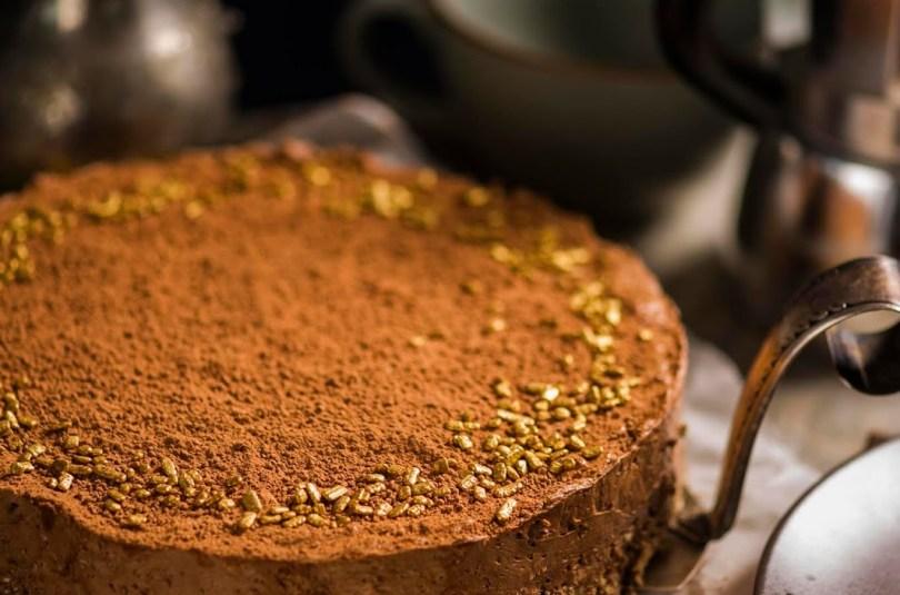 Küpsetamata külluslik šokolaadi-toorjuustukook Philadelphia Milkaga