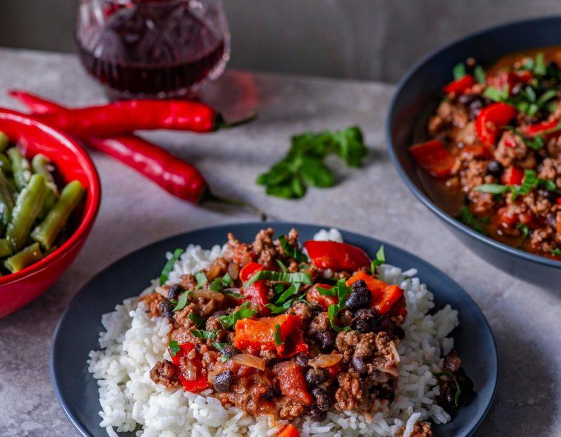 Chilli con Carne ehk vürtsikas hakklihahautis