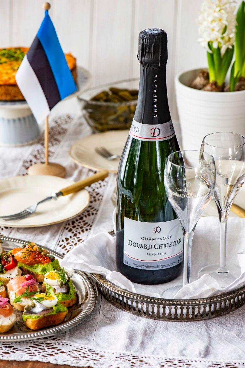 Šampanja – väärikas jook Väärikaks tähistamiseks