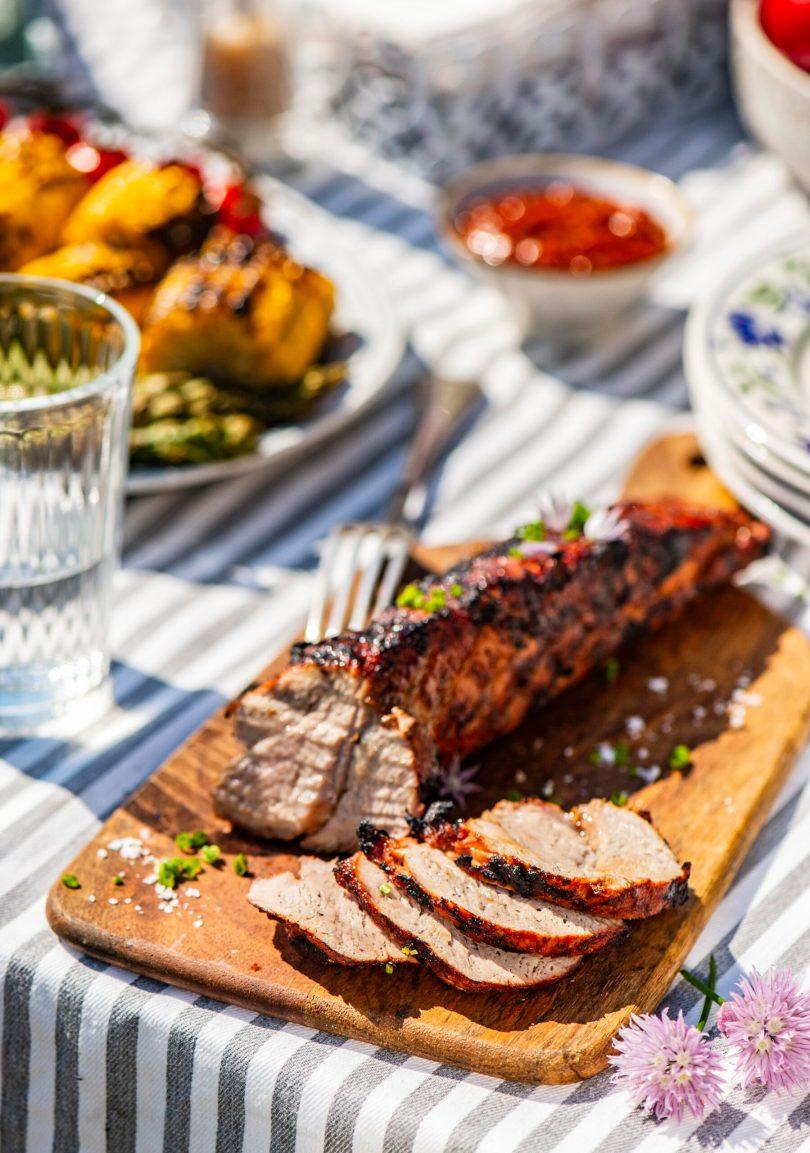 Mahlane grillitud seafilee