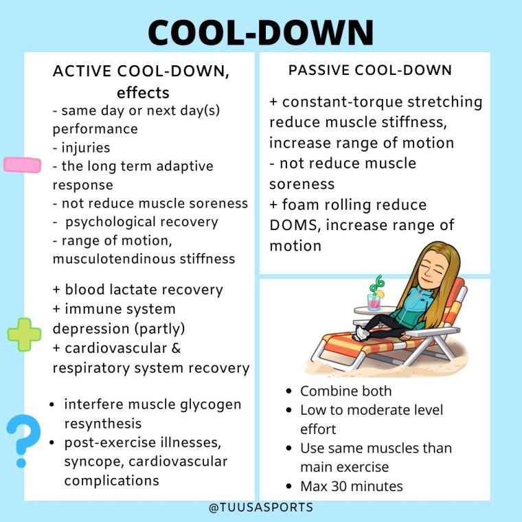 cool down effekt