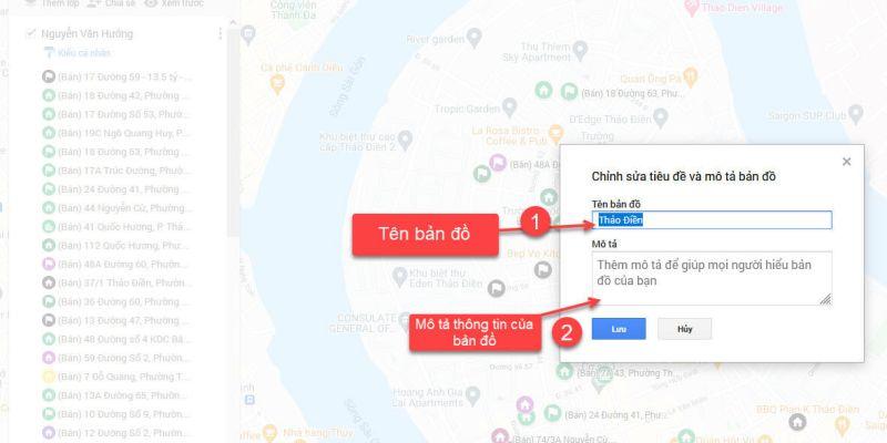 Thông tin bản đồ
