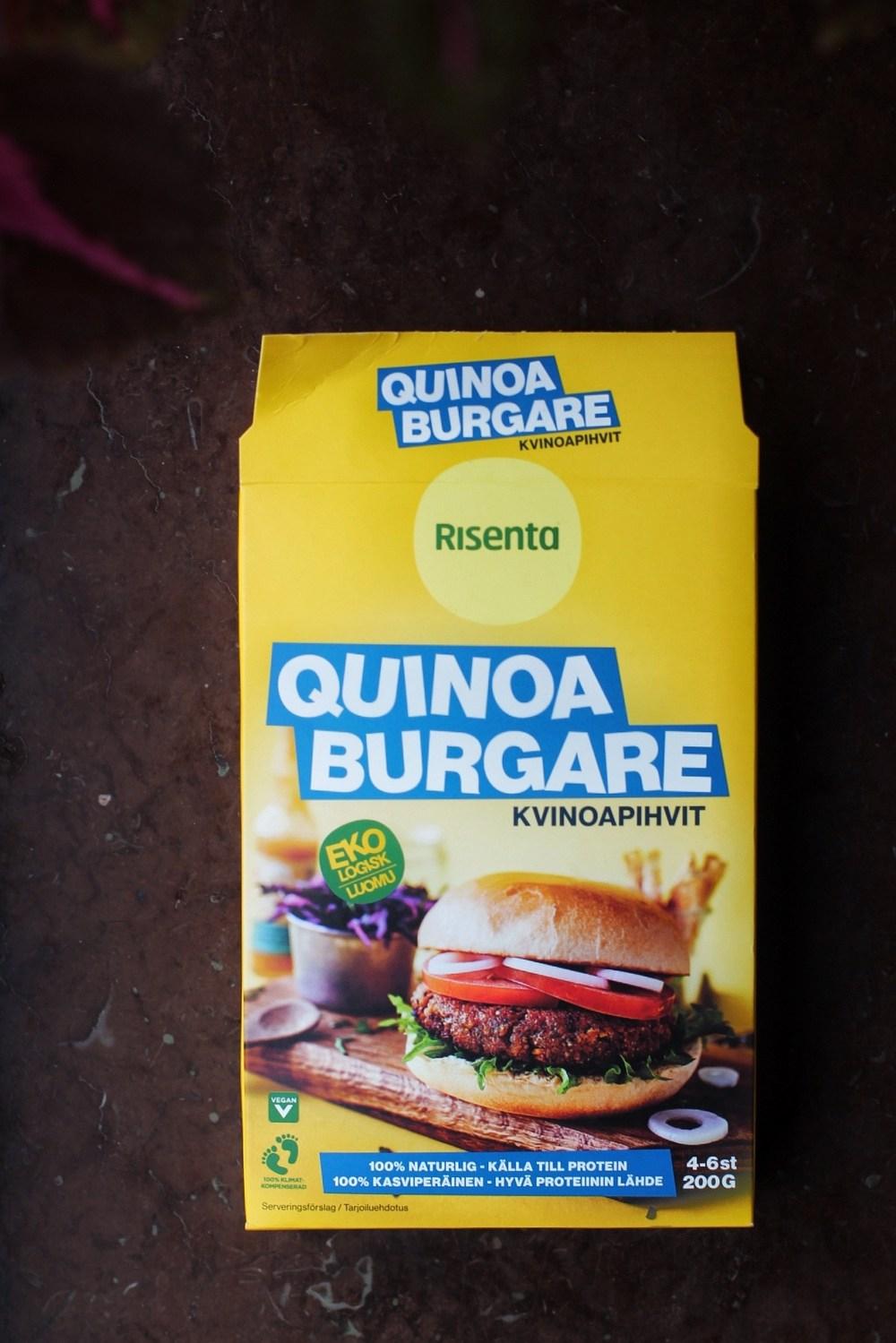 vegansk quinoamix från Risenta