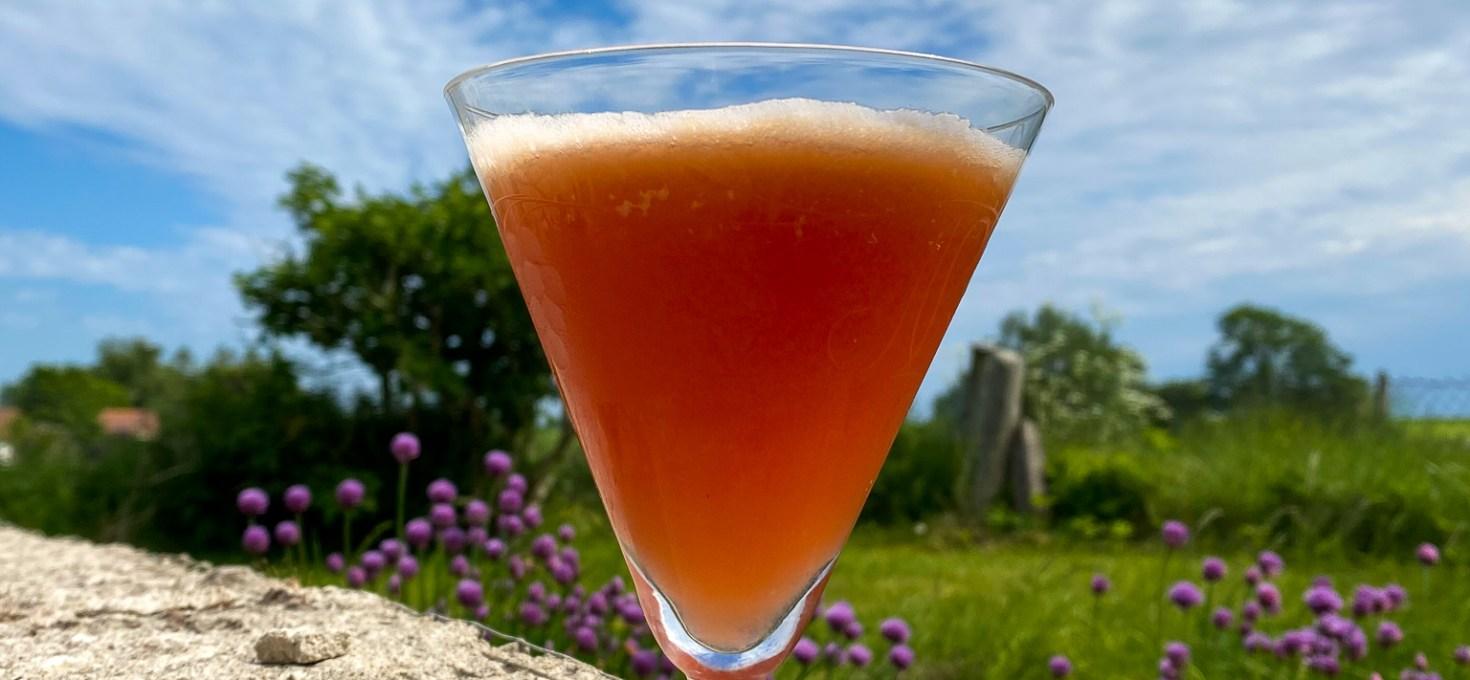 Vårens bästa drink: Rabarber Sour