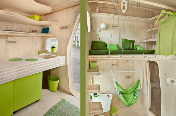 10-Square Meters Smart Student Unit Is A Smart, Green, And