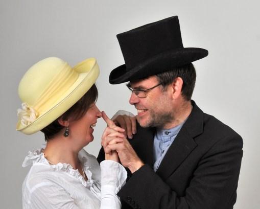 Edgars Mažis ar sievu Kristīni. Foto no personīgā arhīva