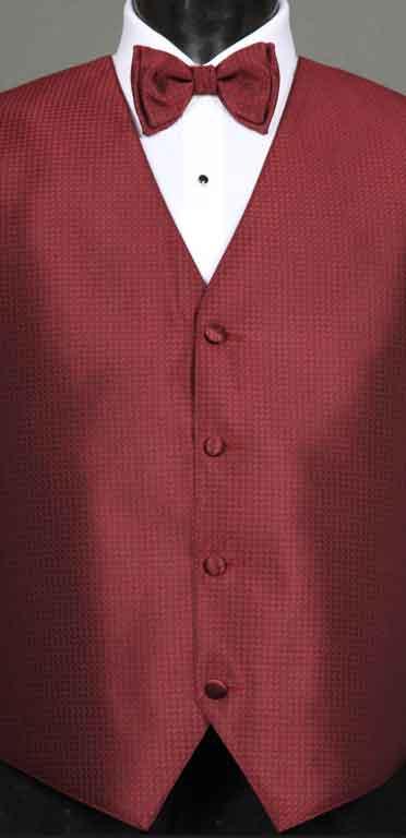 Apple Devon vest with matching Bow Tie