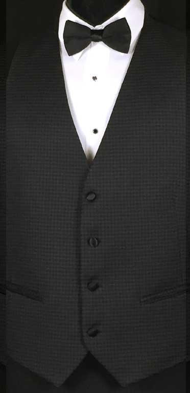 Ashton Checked Vest by Ike Behar