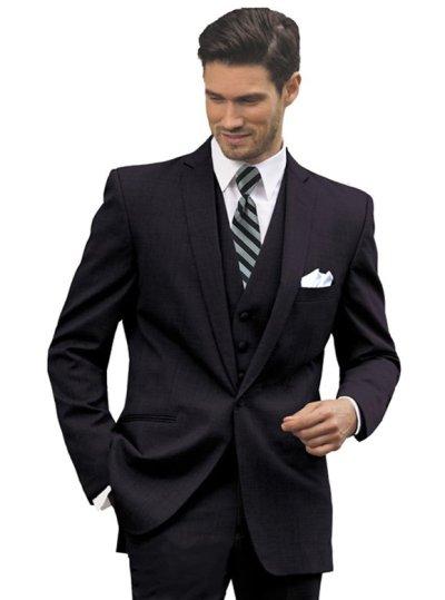 Black Valencia Suit by Black Label