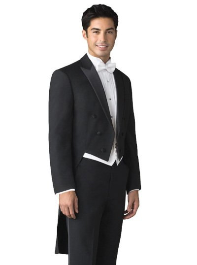 Black Full Dress Tailcoat