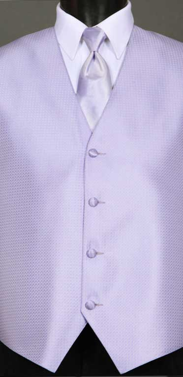 Lilac Devon Vest with Lilac Ombre Windsor tie