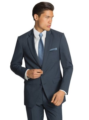 The Slate Blue Bartlett Suit by Allure Men