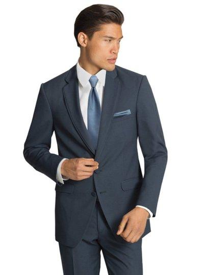 The Slate Blue Bartlett Suit by Allure Men
