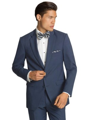 The Slate Blue Bartlett Tuxedo by Allure Men
