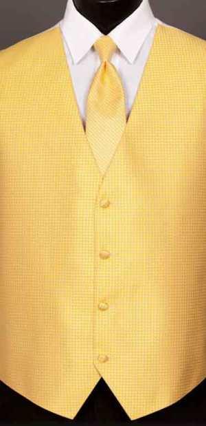 Sunbeam Devon vest with matching Windsor tie