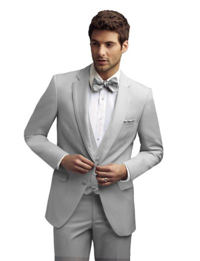 Cement Bartlett Tuxedo by Allure For Men